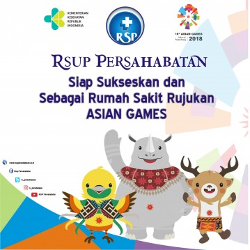 ASIAN GAMES RSUP PERSAHABATAN