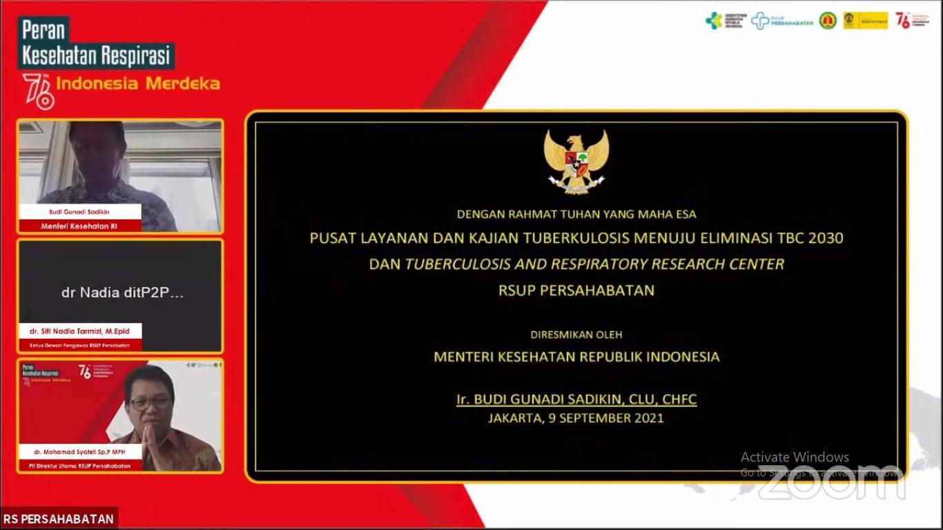 Webinar Nasional Peran Kesehatan Respirasi Indonesia Dalam 76 Tahun Indonesia Merdeka