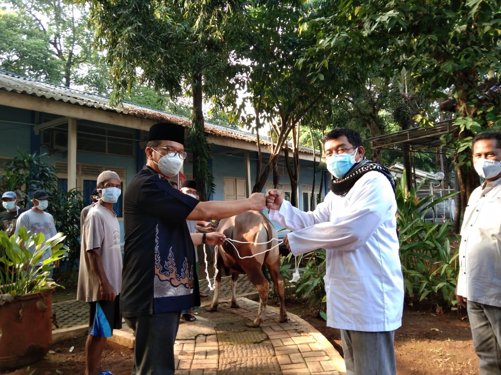 Peringatan Hari Raya Idul Adha 1442 H RSUP Persahabatan Di Tengah Pandemi Covid- 19