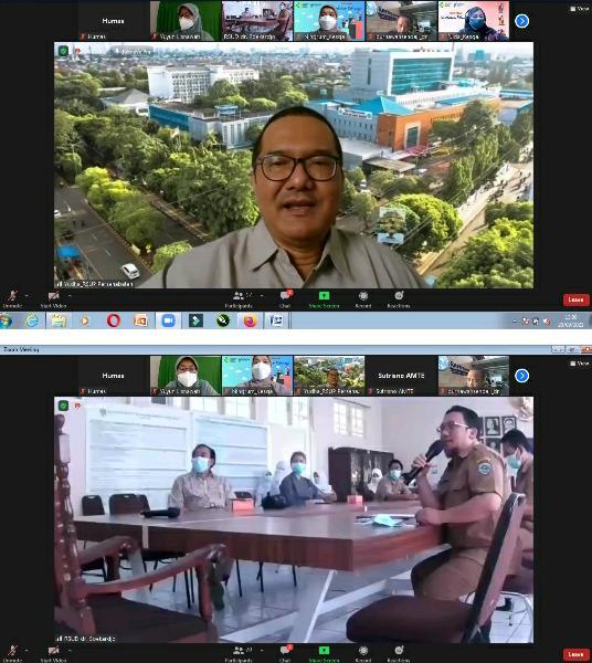 Pendampingan Program Penurunan AKI AKB RSUD dr Soekardjo Tasikmalaya