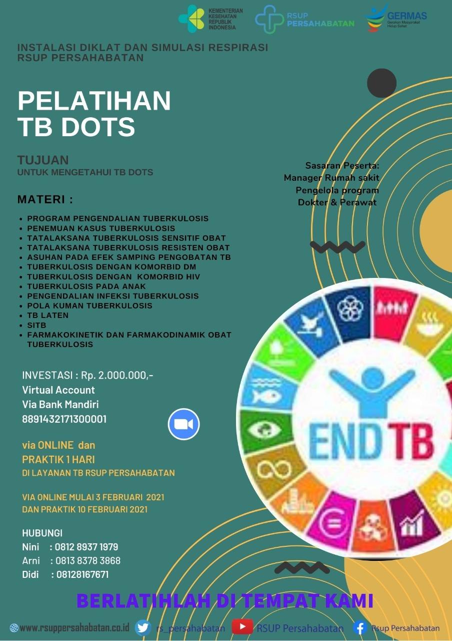 Pelatihan TB DOTS Februari 2021