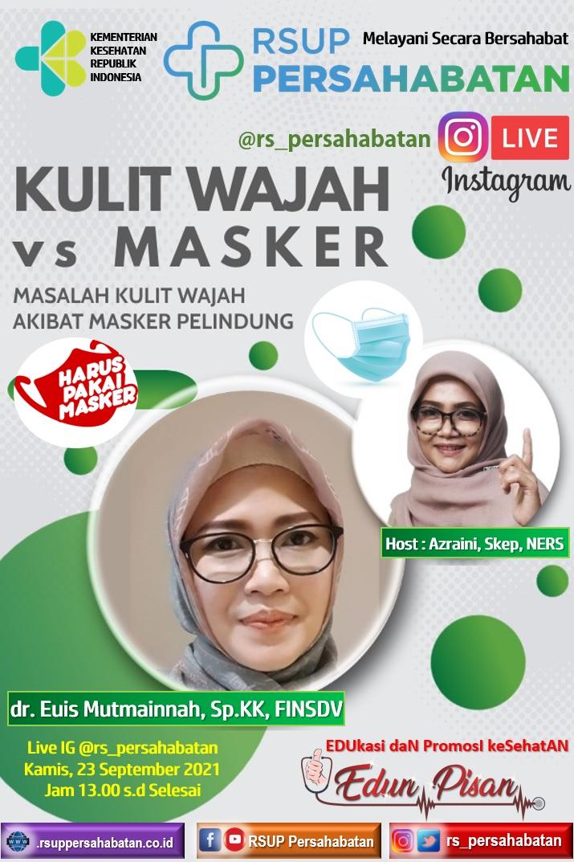 Kulit Wajah vs Masker