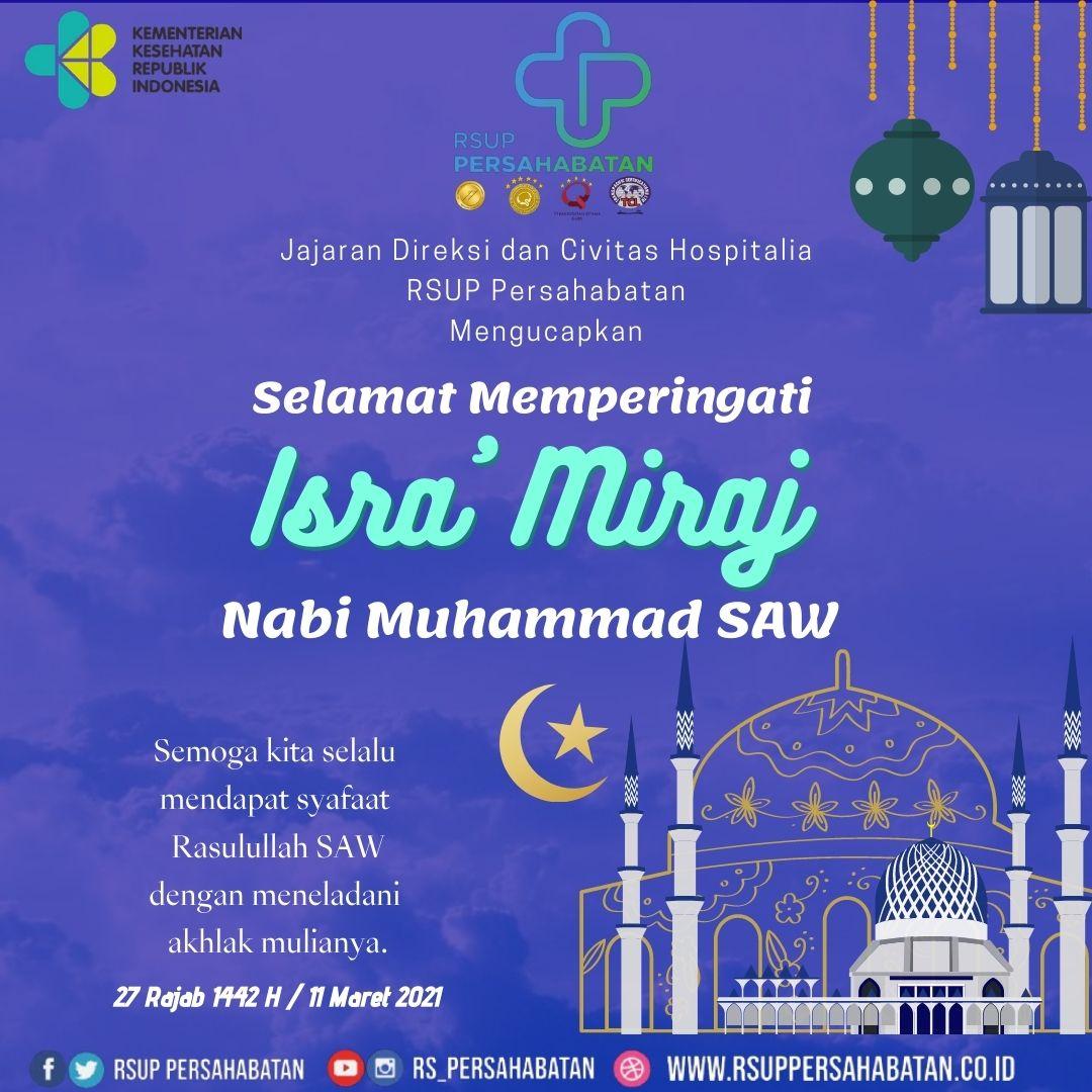 Isra Miraj Nabi Muhammad SAW Tahun 2021