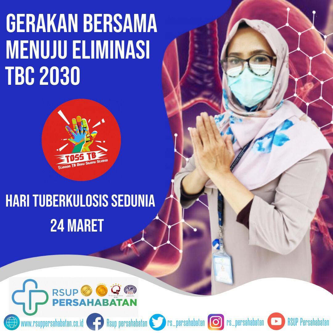 Hari Tuberkulosis Sedunia 24 Maret