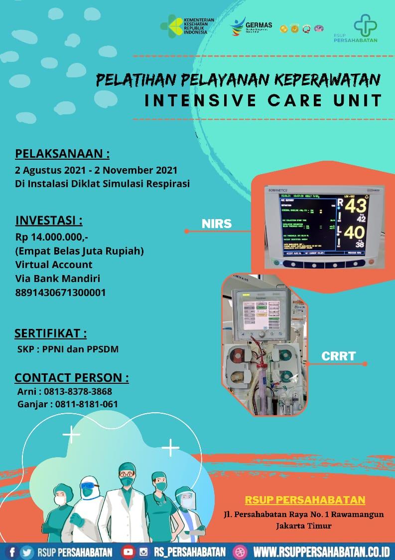 Pelatihan Pelayanan Keperawatan Intensive Care Unit
