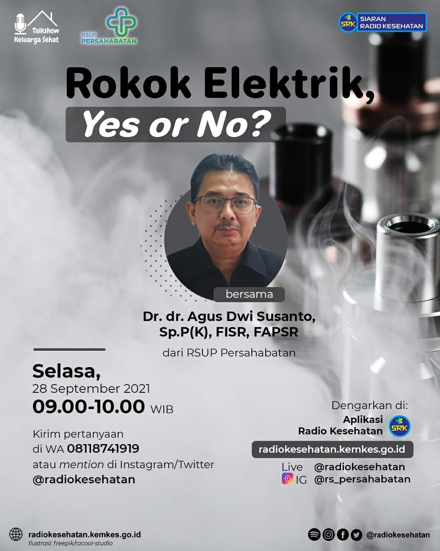 Rokok Elektrik,Yes or No?