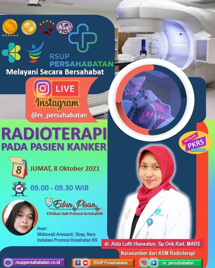 Radioterapi Pada Pasien Kanker