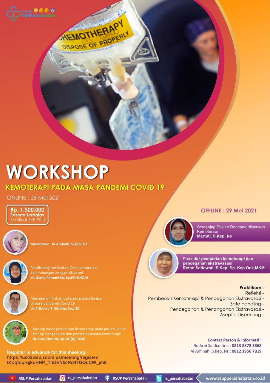 Workshop Kemoterapi Pada Masa Pandemi Covid-19